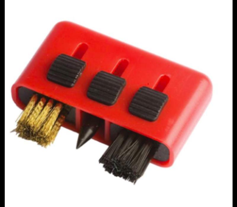 3-in-1 mini brush