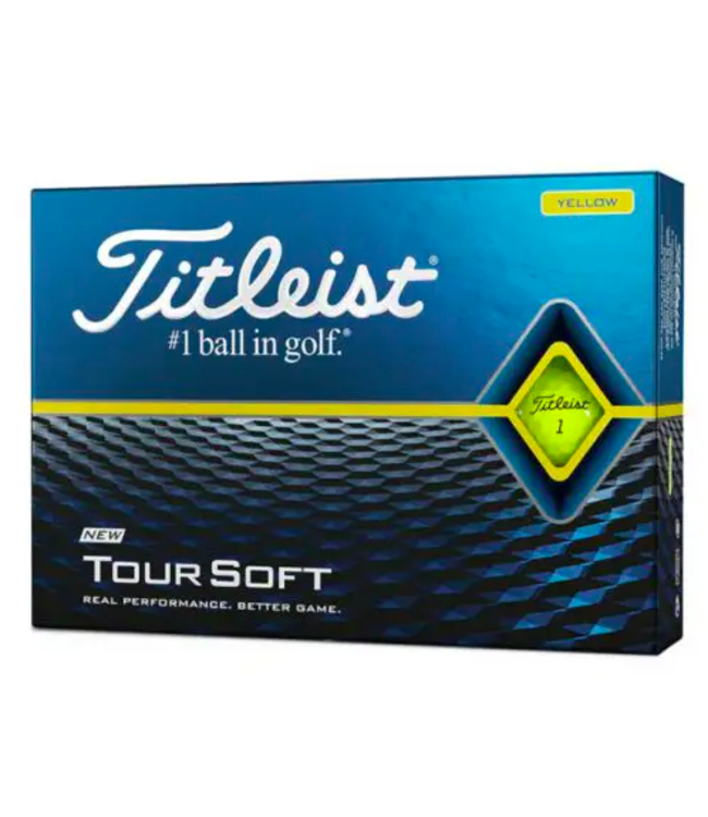 Titleist Titleist 2020 Tour Soft Yellow