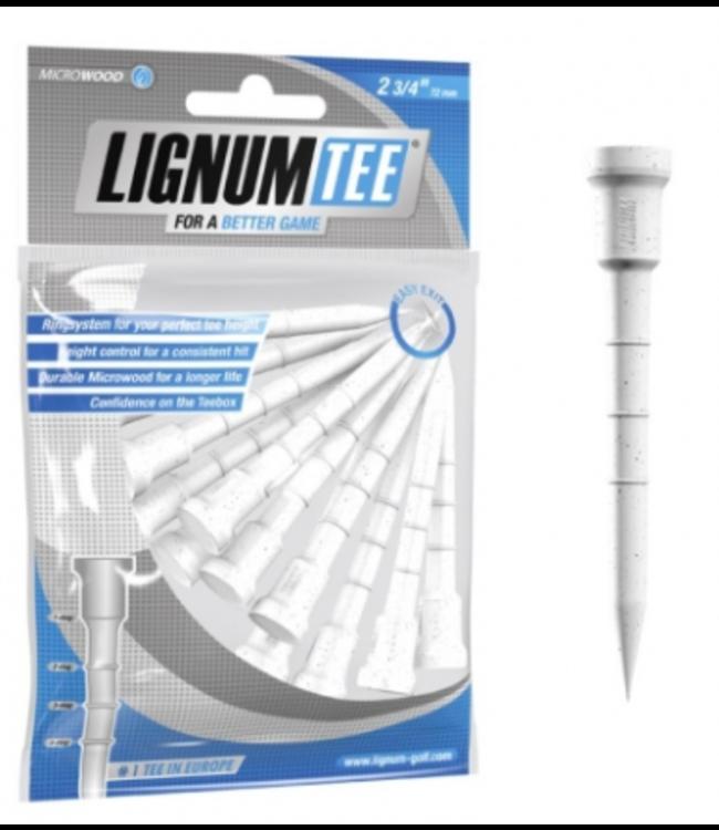 Lignum Lignum Tees 72 mm bag 12 pcs White
