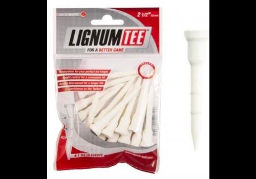 Lignum Lignum Tees 62 mm bag 16 pcs White
