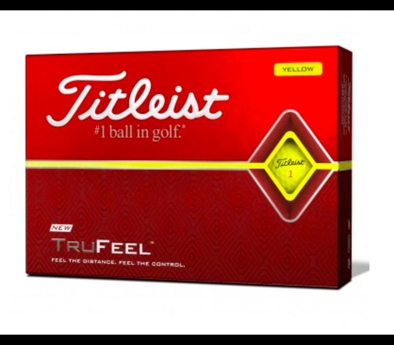 Titleist 2019 Trufeel Yellow