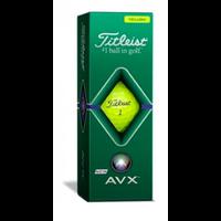Titleist 2020 AVX Yellow