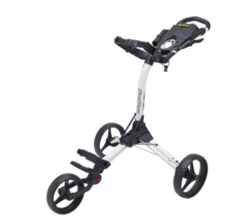 Trolley BagBoy Compact-3 2020 White/Black Accents