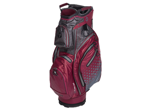 FastFold FastFold Thunder Waterproof Cart Bag burgundy/grey