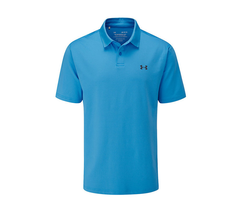 Performance Polo 2..0-Electric Blue /  / Pitch Gray
