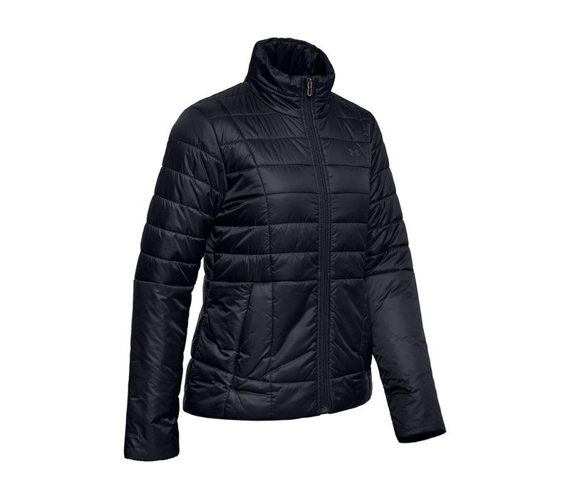 UA Armour Insulated Jacket-Black /  / Jet Gray
