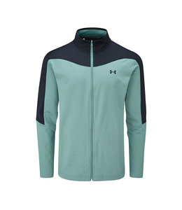 Under Armour UA Storm Midlayer Full Zip-Lichen Blue / Black / Black