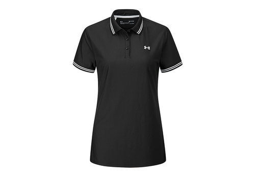 Under Armour UA Zinger Pique Polo-Black / Halo Gray / Halo Gray