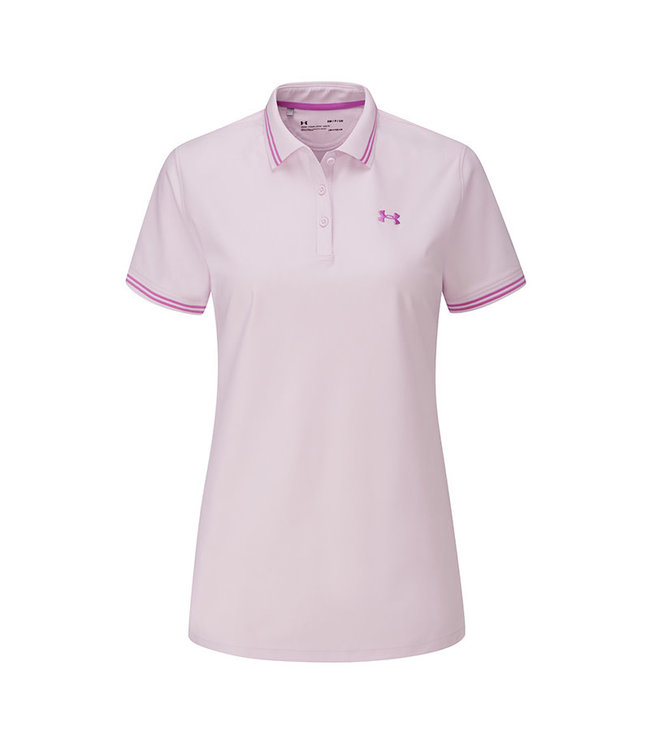 Under Armour UA Zinger Pique Polo-Crystal Lilac / Exotic Bloom / Exotic Bloom