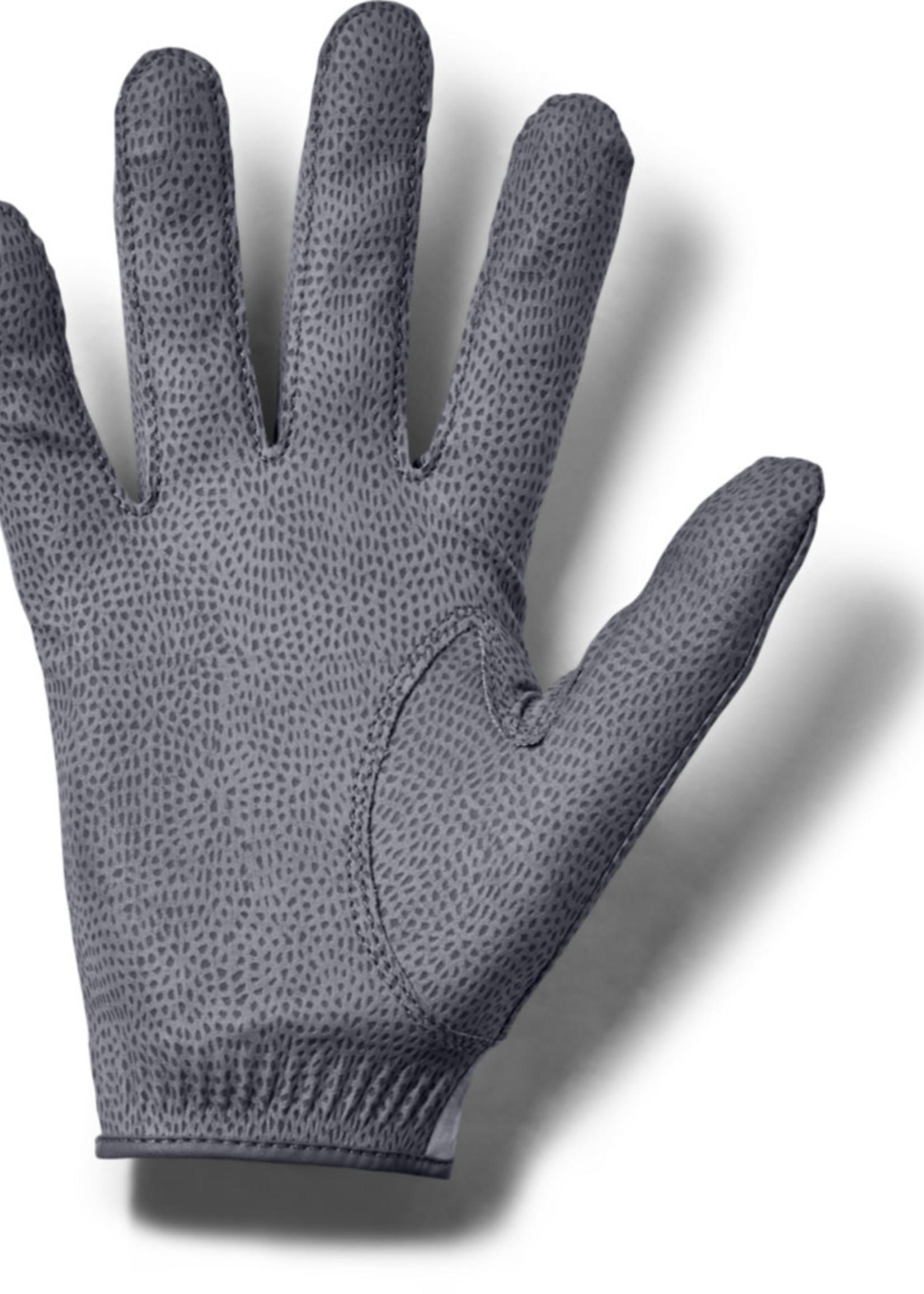 Under Armour Storm Golf Gloves - Steel