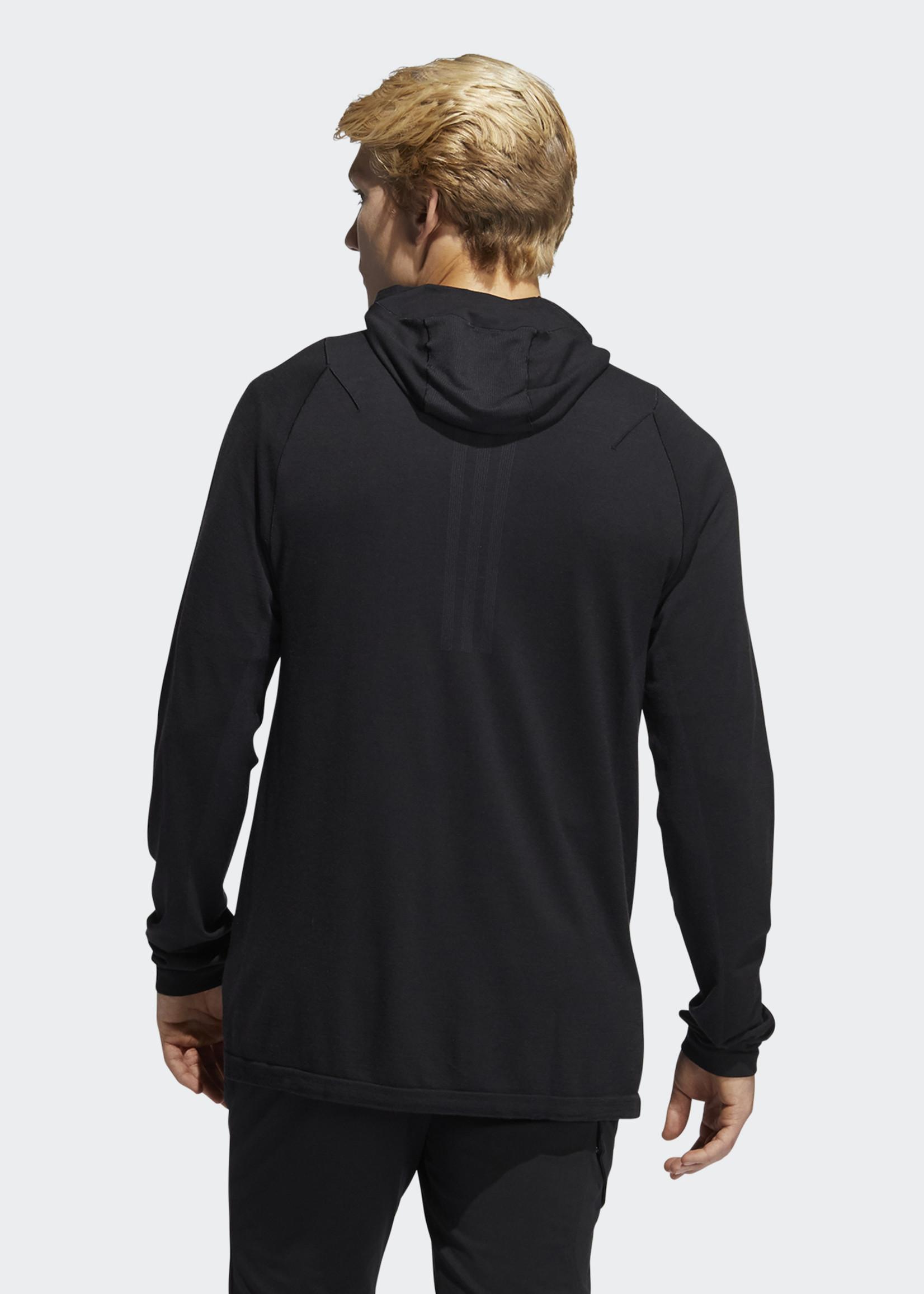 Adidas PRIMEKNIT HOODY BLACK