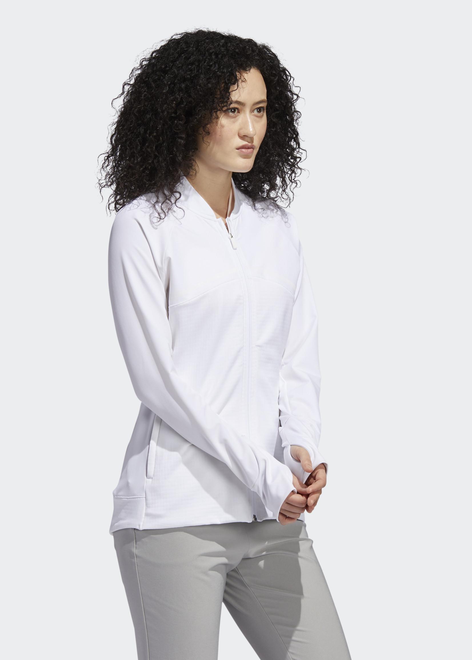 Adidas HYBRID F ZIP J      WHITE