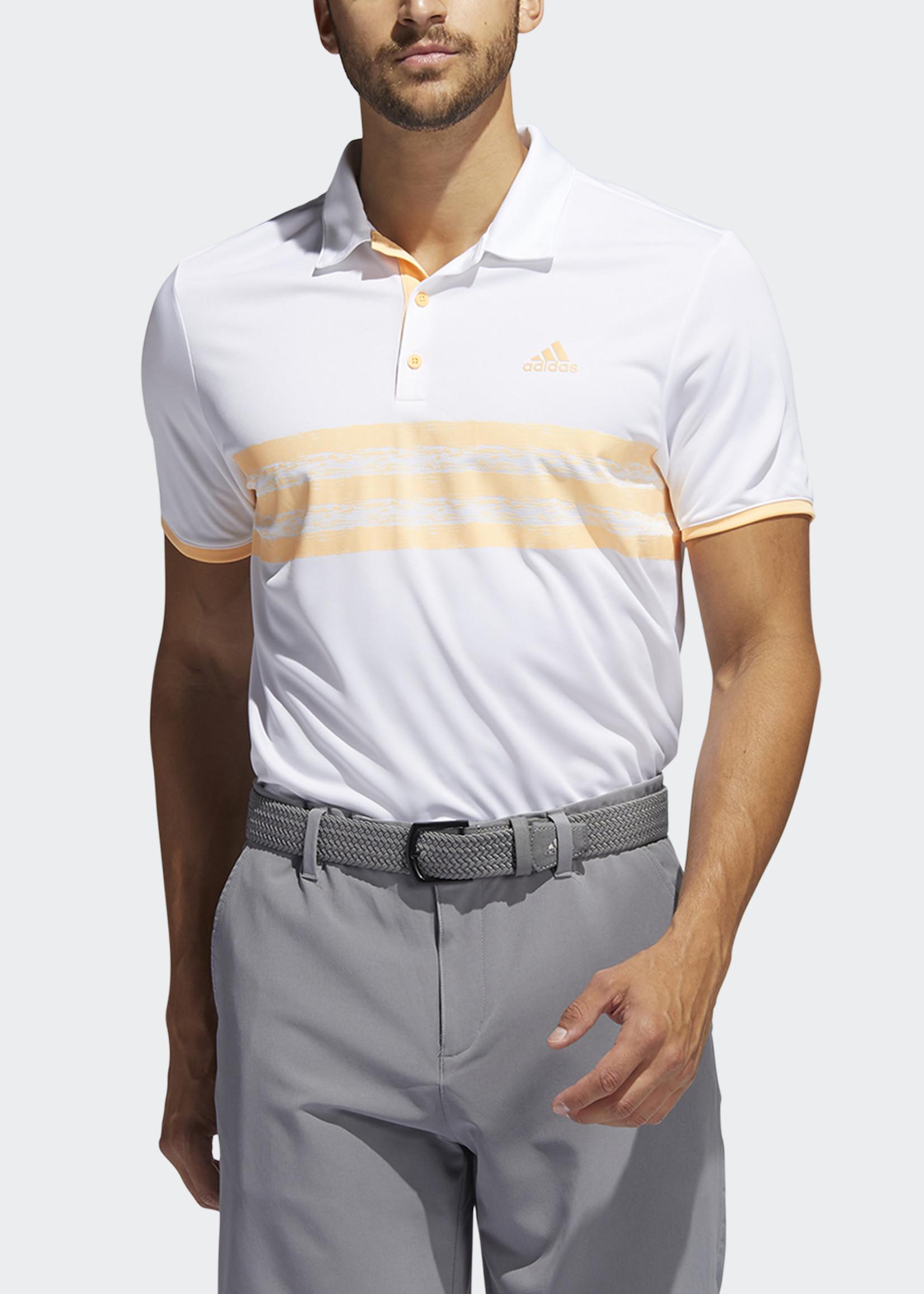 Adidas Core Polo LC White/Orange GL0107