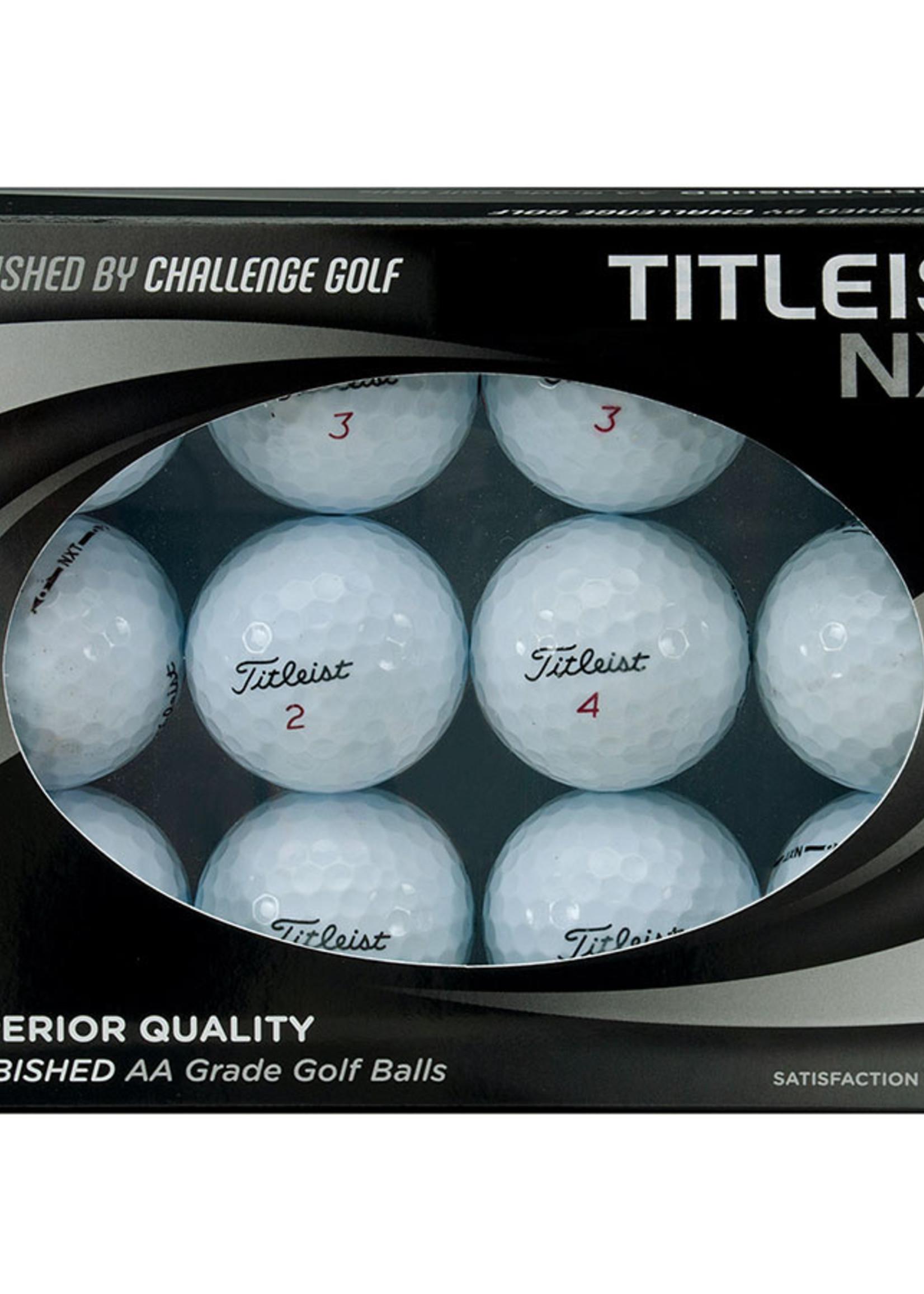 Titleist NXT Refurbished Golfballs