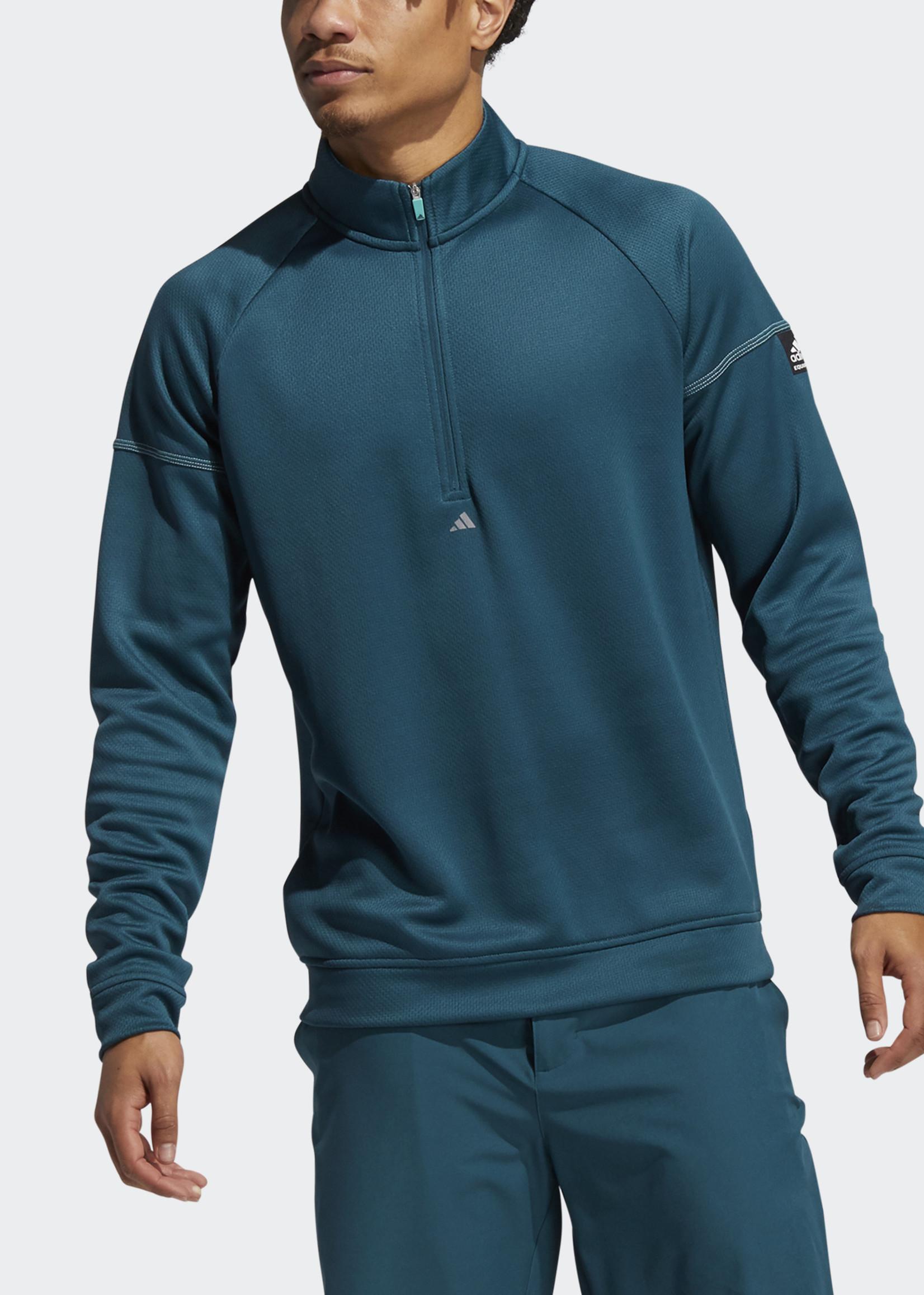 Adidas EQUIPMENT 1/4 ZIP SWEATSHIRT Groen
