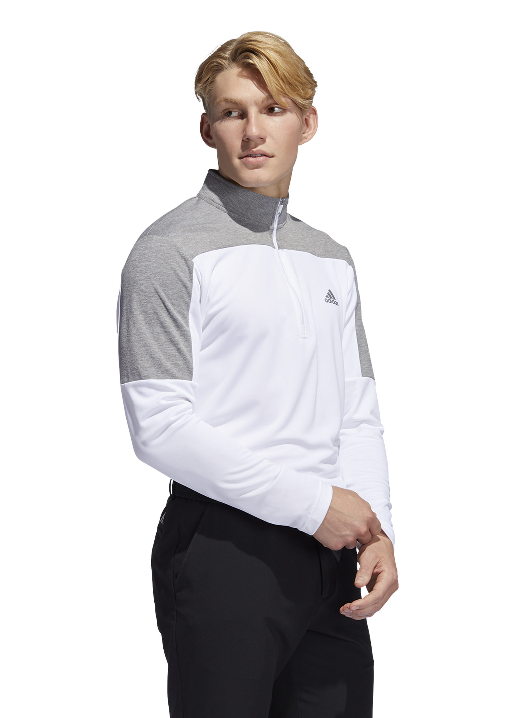 Adidas Adidas Midlayer 1/4 zip UPF LTWGT