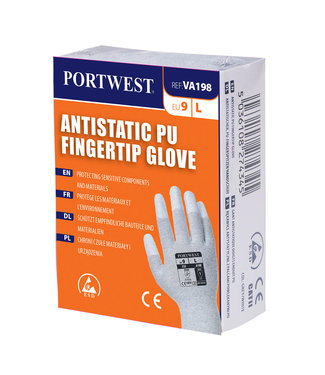 VA199 - Antistatische PU Palm handschoen voor uitgifteautomaten
