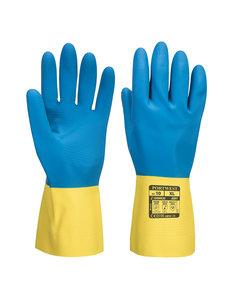 A801 - Dubbel gecoate latex handschoen