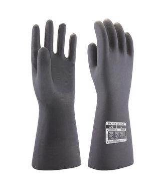 A820 - Neopreen chemische handschoen Zwart
