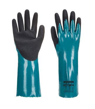 AP60 - Lichte Korrelige Grip Handschoen Blauw/zwart