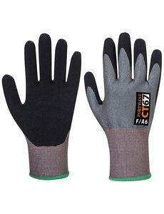 CT67 - CT AHR Nitrilschuim handschoen Grijs/zwart