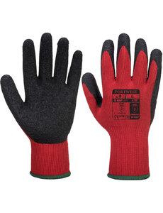 A100 - Griphandschoen Rood/Zwart