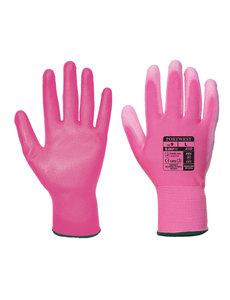 A120 - PU Palm Handschoen Roze