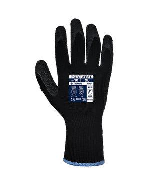 A140 - Thermische Handschoen met Grip Zwart