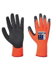 A140 - Thermische Handschoen met Grip Oranje/zwart