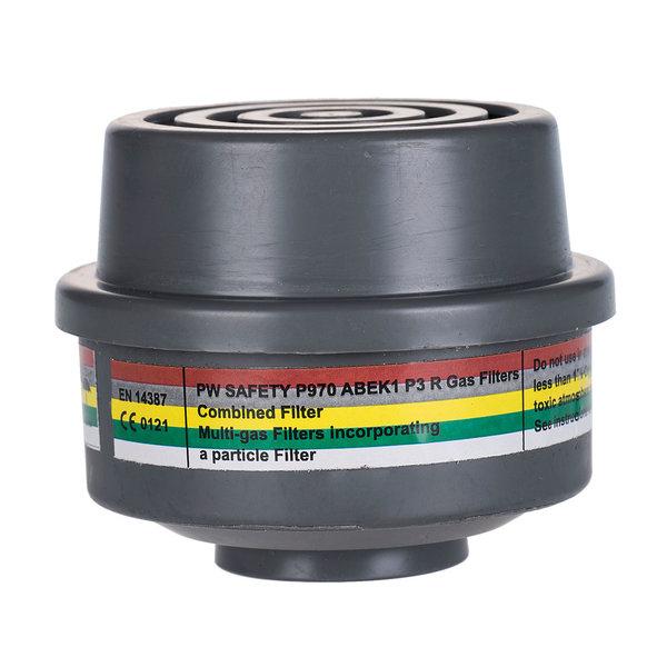 P970 - ABEK1P3 Combinatie Filter met speciale draadbevestiging (4 stuks)