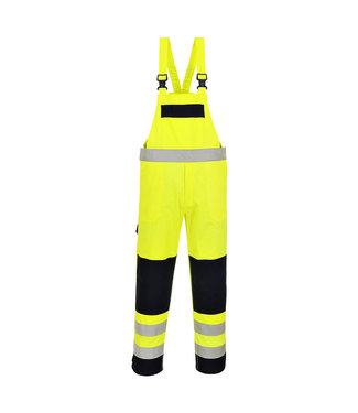 Portwest FR63 - HiVis Multi-Norm Amerikaanse Overall Geel/marine