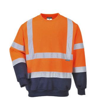 B306 - Tweekleuren Hi-Vis Sweatshirt
