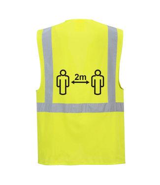 CV76 - Social distance Executive Vest 2m