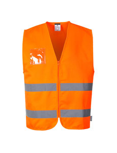 C497 - Hi-Vis Polyester/katoenen Vest