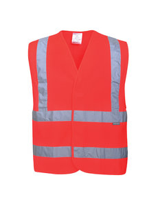 C470 - Hi-Vis Two Band & Brace Vest