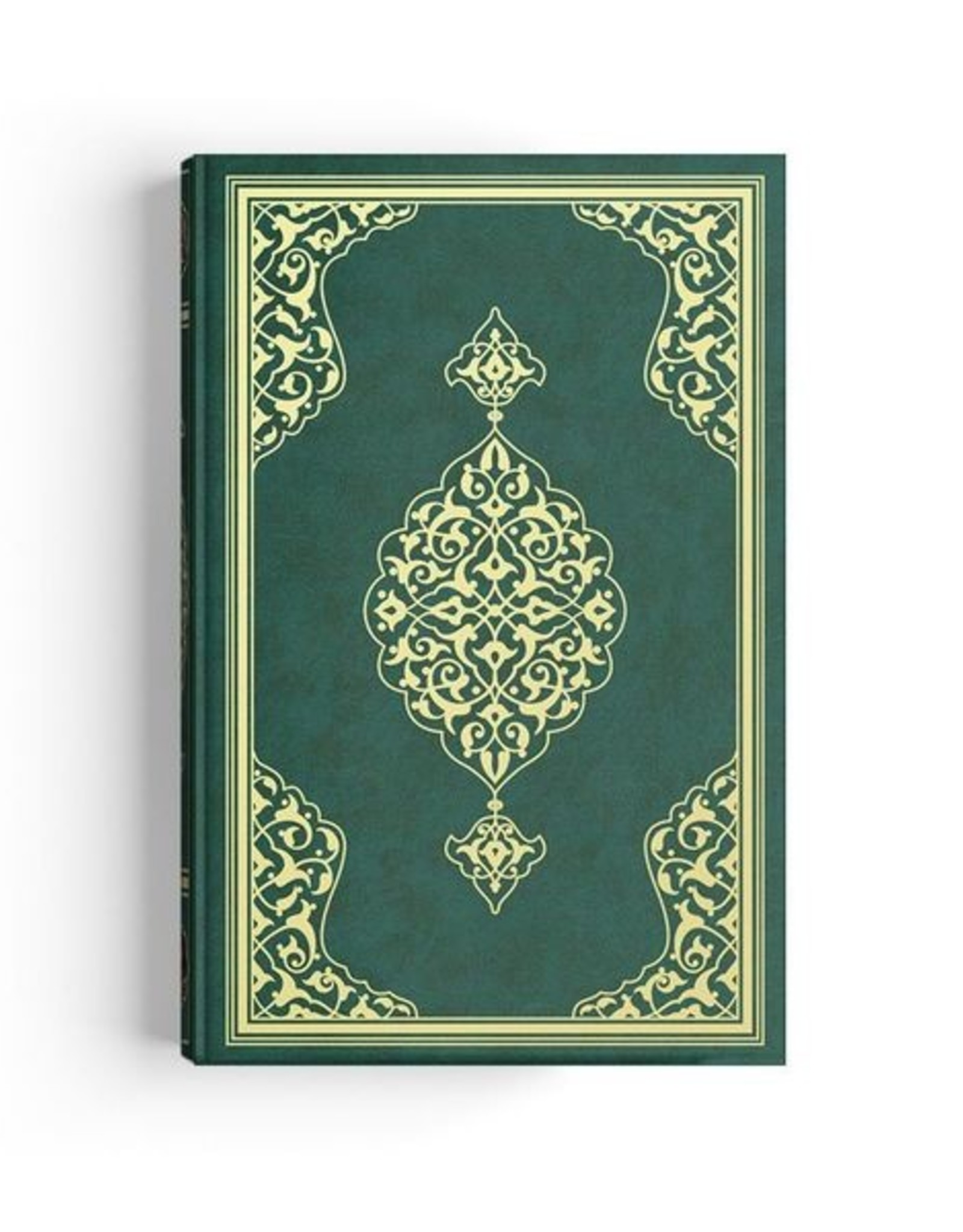 Kur'an-ı Kerim Orta Boy İki Renkli  Yeşil