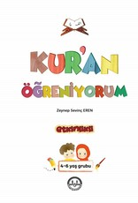Kur'an Öğreniyorum Etkinlikli 4-6 Yaş Grubu