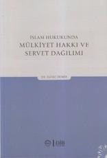İslam Hukukunda Mülkiyet Hakkı ve Servet