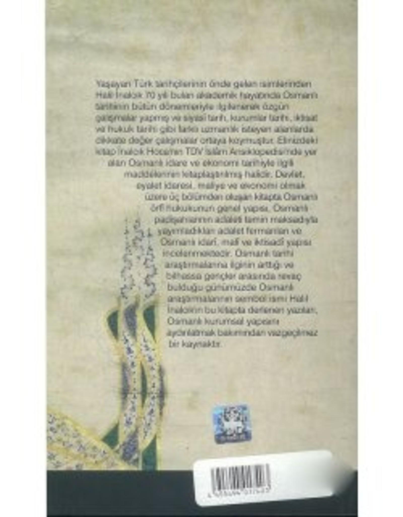 Osmanlı Idare ve Ekonomi Tarihi
