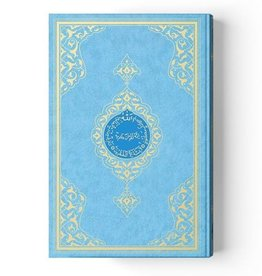 Cami Boy Kur'anı Kerim Mavi