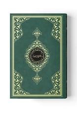 Kur'anı Kerim Rahle Boy İki Renk Yeşil