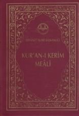 Kur'an-ı Kerim Meali Cep Boy Plastik Kapak Arapça Metinli