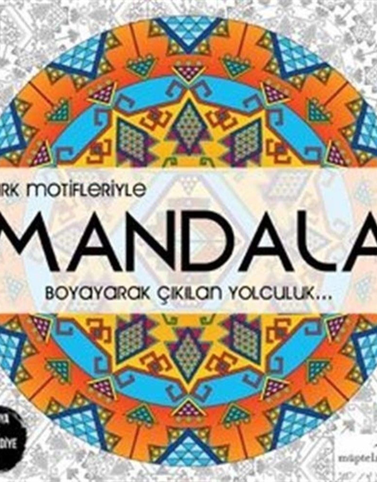Türk Motifleriyle Mandala