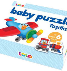 Baby Puzzle Taşıtlar 1 + Yaş