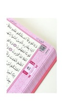 Kur'an-ı Kerim Cami Boy Pembe Renk