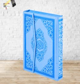 Kur'an-ı Kerim Rahle Boy Mavi Renk
