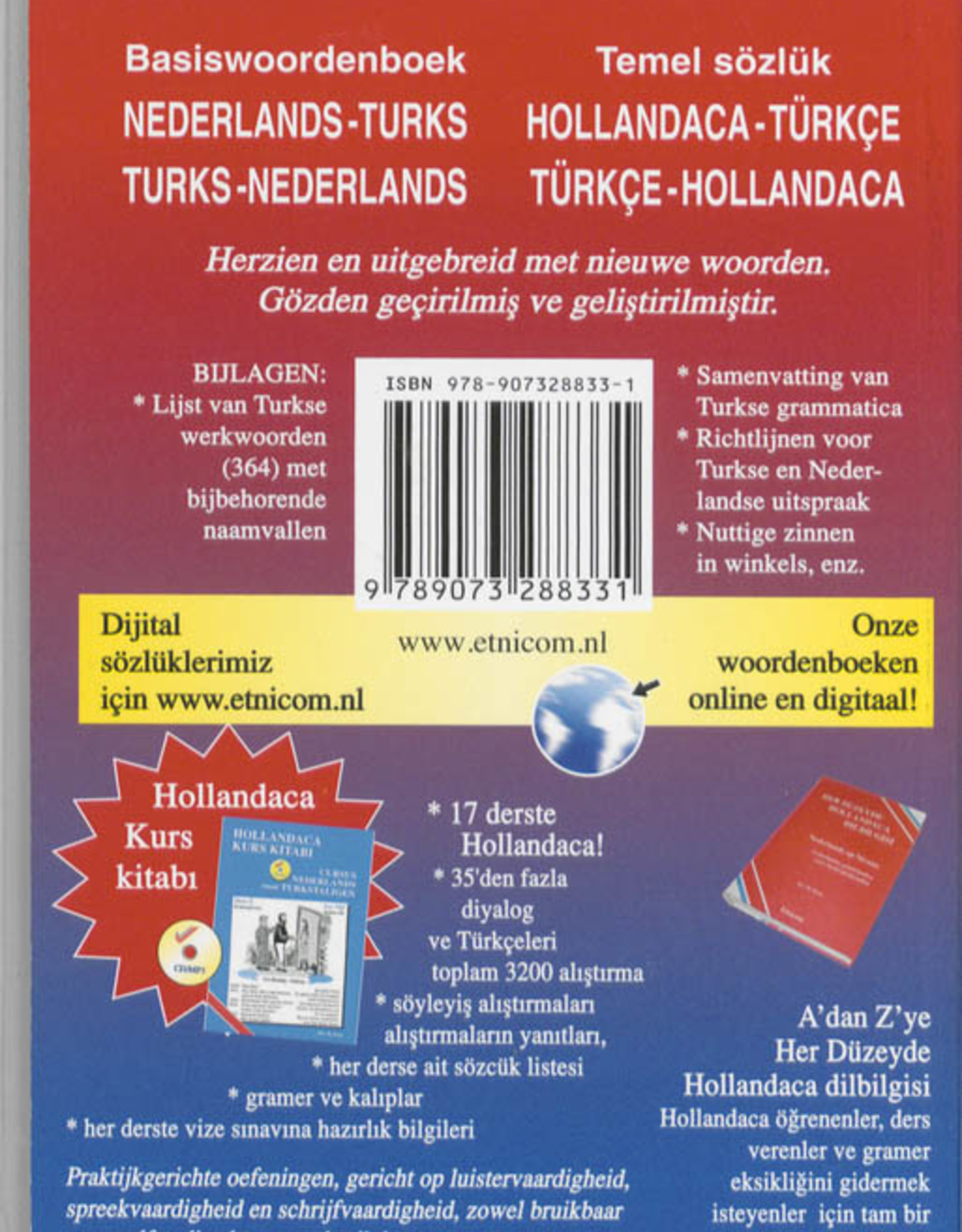 Basiswoordenboek Nederlands - Turks en Turks - Nederlands