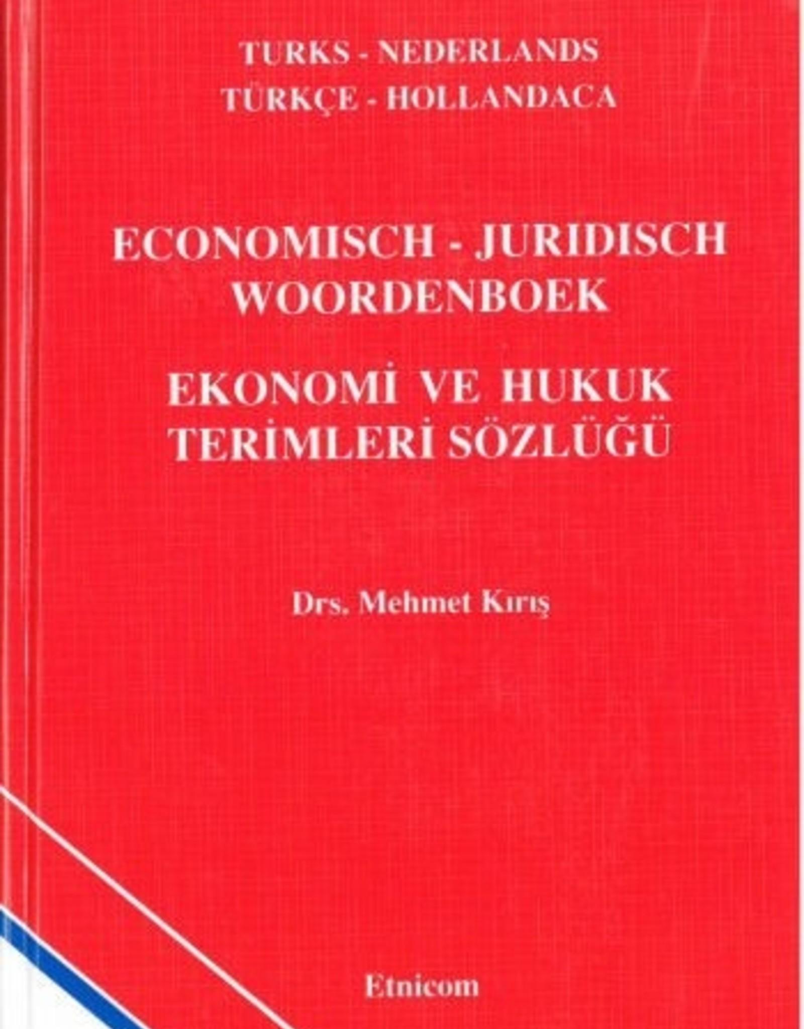 Economisch - Juridisch Woordenboek Turks - Nederlands