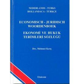 Economisch - Juridisch Woordenboek Nederlands - Turks