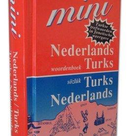 Mini Woordenboek Nederlands - Turks en Turks - Nederlands